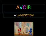 French 1: Le verbe AVOIR