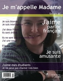 French 1 Magazine Cover: Review Fall Semester