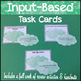 French 1 Speaking Final Exam with Input-Based Task Card Practice