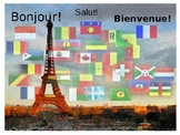 French 1 TPRS unit 1- Salutations, classroom commands and objects