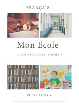 French 1 Unit 3 Workbook NO TEXTBOOK NECESSARY