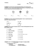 French 1 (first quiz: greetings, alphabet, accents)