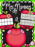 French 10-Frame & 20-Frame Number Cards