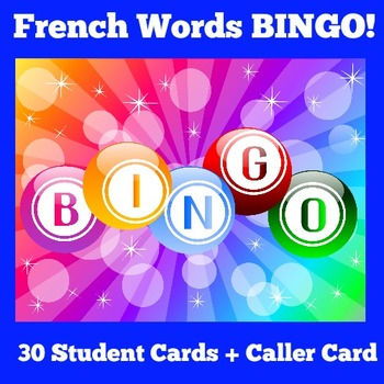 French Games | Elementary French | French Activity