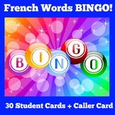 French Games | Activity | BINGO