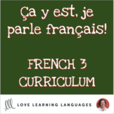 French 2 grammar, vocabulary, task cards, games and activi