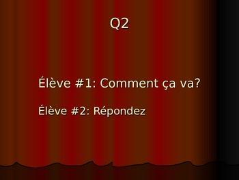 French 2 Dialogue: Passé Composé (AP Prep)