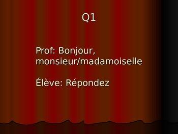 French 2 Dialogue: Reflexive Verbs (AP Prep)