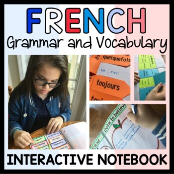 French 2 Interactive Notebook with Scaffolded Notes