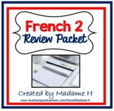 French 2 Review Packet