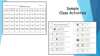 French 2 Unit- Leisure Activities and Review of Present Tense Conjugation