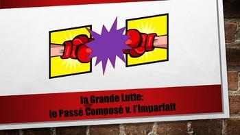 French 2 Unit- Passé Composé vs Imperfect with Reading Comprehension Project