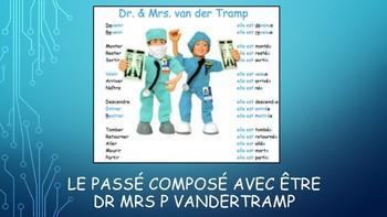 French 2 Unit- Passé Composé with ETRE and ETRE Irregulars