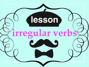 Irregular Verbs - lesson