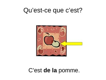 French 2 le partitif the partitive Discovering French Blanc Unit 3 the foods