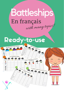 French 20 ready-to-use battleships games