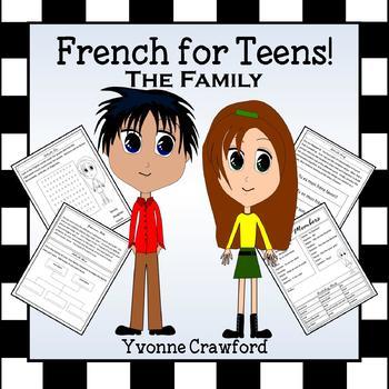French Family Words -  La famille en Français
