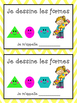French 2D Shapes Bundle- Booklets, Vocabulary and Investig