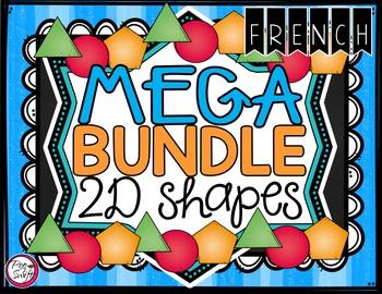 French 2D Shapes MEGA BUNDLE
