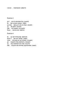 French -- 2nd cojugation