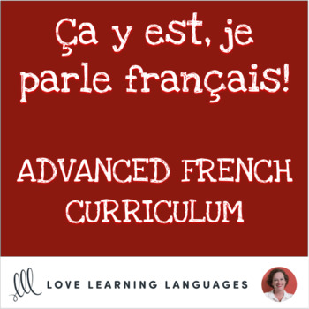 French 3+ Curriculum Supplement Growing Bundle