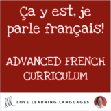 French 3 and 4 Curriculum Supplement Bundle