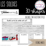 French 3D Solids BOOM® Cards