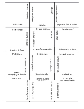 French 3x4 Leisure Puzzle