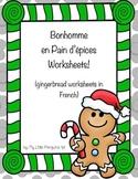 French-4 Bonhomme en Pain d'épices (Gingerbread man) Chris