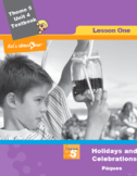 French 5 FSL: Lesson 1: Holidays & Celebration:  Pâques (CAN&USA)