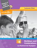 French 5 FSL: Lesson 1:Holidays & Celebrations:Le Festival