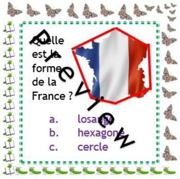 French Immersion or Core French: 54 task cards - basic numeracy, maths