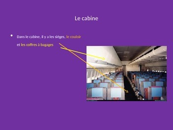 French-- A l'aeroport--PowerPoint