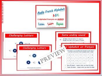 French ABC Alphabet BUNDLE