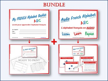 French ABC Alphabet BUNDLE
