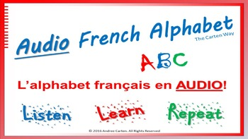 French ABC Audio Alphabet Made Easy
