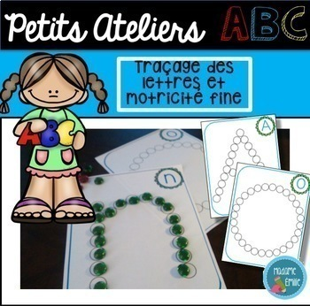 French ABC centers Growing BUNDLE/ Centres de l'alphabet (ensemble grandissant)