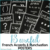 French Posters: Accent & Punctuation Marks - High Res Classroom Decor