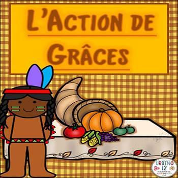 French: L' Action de Grâces Jeu de Loto