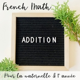 French Addition Kinder Centres
