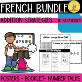 French Addition Strategies BUNDLE I Les stratégies d'addition