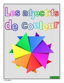 """French: """"Les adjectifs de couleur"""""""