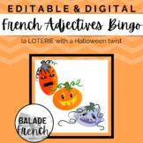 French Adjectives Bingo : Halloween Version