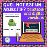 Adjectifs qualitatifs: French adjectives practice | Printable & Digital Boom