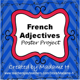 French Adjectives Poster Project