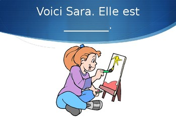 French Adjectives Powerpoint - Speaking Activity