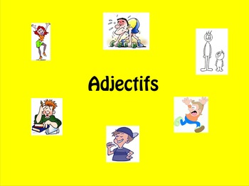 French Adjectives (adjectifs)