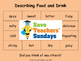 French Adjectives (for food) Lesson plan, PowerPoint (with audio) and More ...