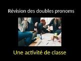 French Advanced Double Object Pronoun Class Activity