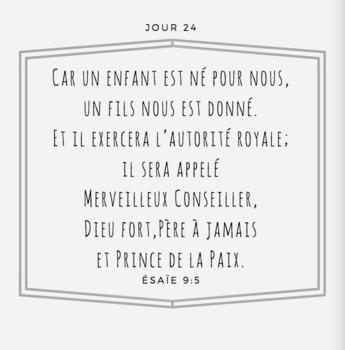 French Advent Calendar BUNDLE Calendrier de l'Avent 25 jours de Nöel